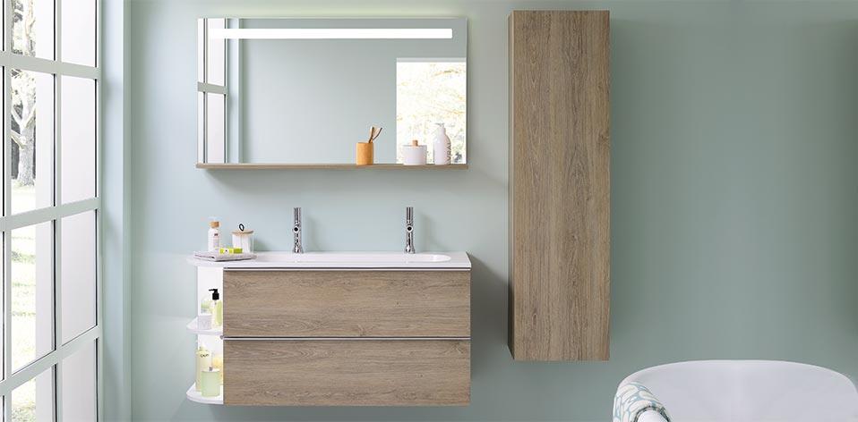 Meubles de salle de bains Morena par Sanijura