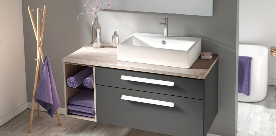 Meuble salle de bains Composable de Burgbad
