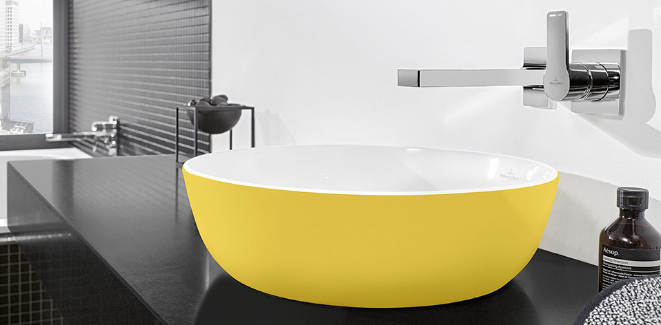 Vasque Artis jaune par Villeroy & Boch