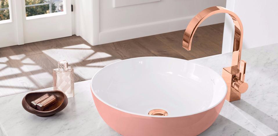 Vasque Artis rose par Villeroy & Boch