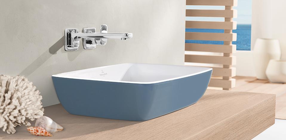 Vasque Artis bleu par Villeroy & Boch