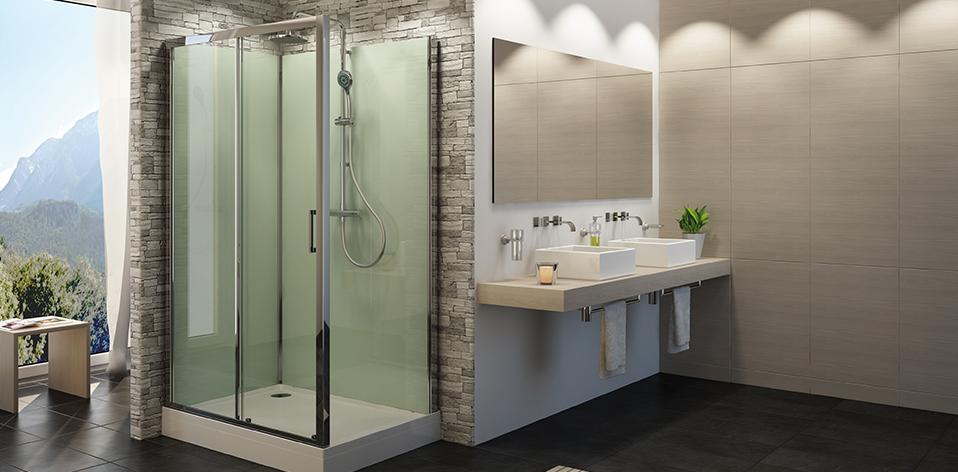 Cabine de douche intégrale Modul'R par Sanswiss