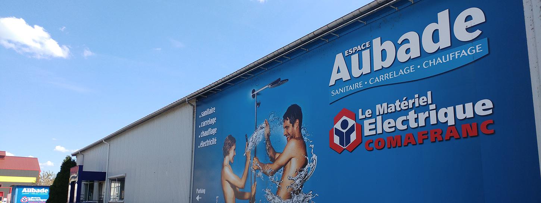 Salle d'exposition Comafranc Audincourt