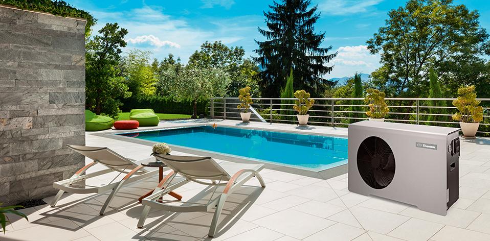 Pompe à chaleur pour piscine Aeromax par Thermor