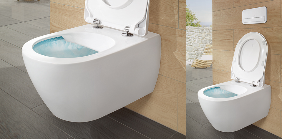 WC Subway 2 Direct Flush par Villeroy & Boch