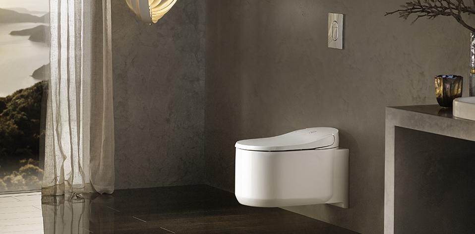 WC lavant Sensia Arena par Grohe