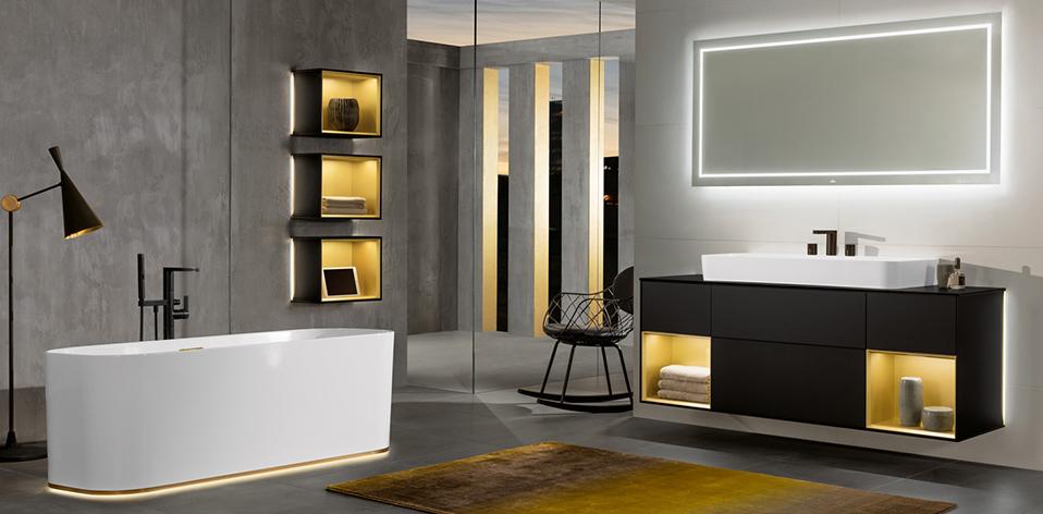 Collection de meuble de salle de bains Finion de Villeroy & Boch