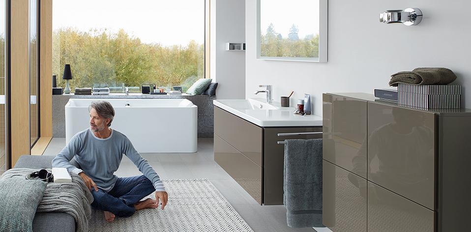 Collection de meuble de salle de bains P3 Comfort de Duravit